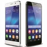 SMTR Huawei Y6 II / Huawei Honor 5A Coque PU Cuir Flip Housse Étui Cover Case Wallet Portefeuille Supporter avec Carte de Crédit Fentes pour Huawei Y6 II -Noir