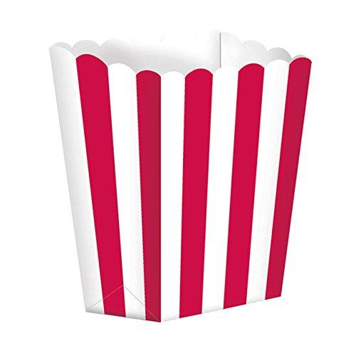Popcorn Boxes Kleine 6cm, Red 5 pro Packung