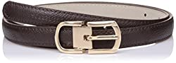 Lino Perros Womens Belt (LWBE00452BROWN_95)