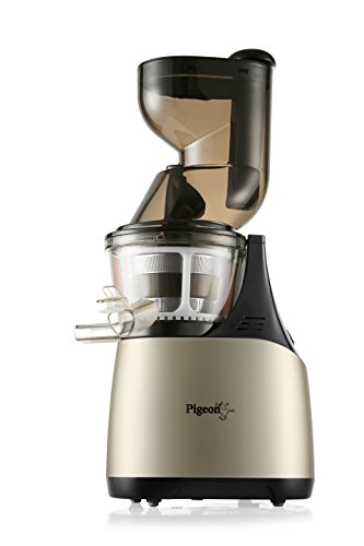 Pigeon Pure 150-Watt Slow Juicer (Gold/Black)