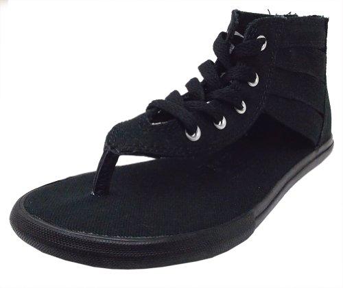 Converse Gladiator Thong Sandal Black