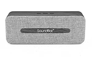 SoundBot SB574 6W Stereo Bluetooth Speakers (Grey)