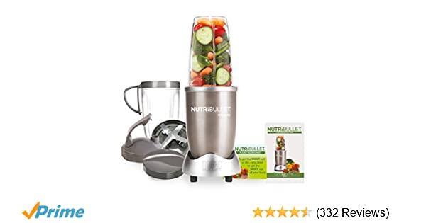 NutriBullet NBLP9 Blender, 900 W, Champagne: Amazon.co.uk: Kitchen & Home