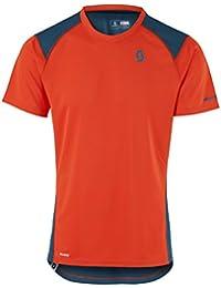 Scott Trail MTN Polar 20Bicicleta Camiseta Corta Naranja/Azul 2017, color tangerine orange/eclipse blue, tamaño M (46/48)