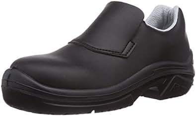 MTS  Sicherheitsschuhe  M-White Vesta S2 15113, Chaussures de sécurité mixte adulte - Noir - Noir, Taille 37 EU