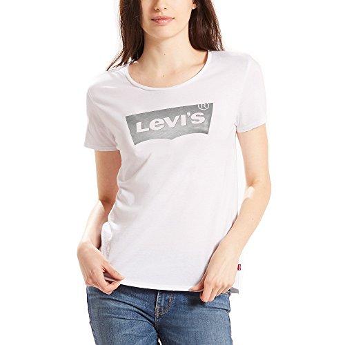 Levi's Sport Graphic Tee, T-Shirt Donna White Logo Tee