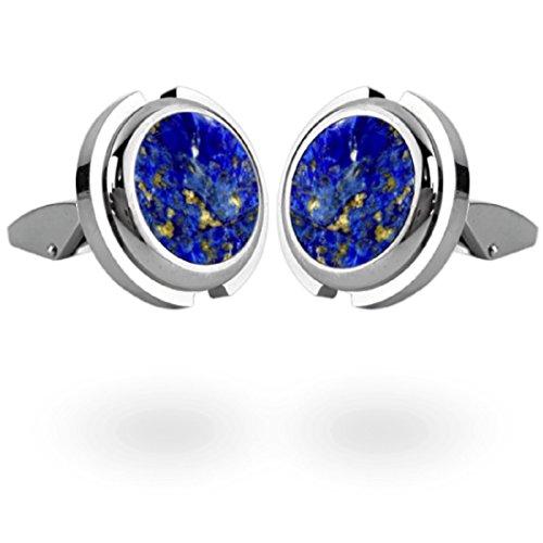 Collaterals Europe Boutons de manchette Futura Lapis Lazuli