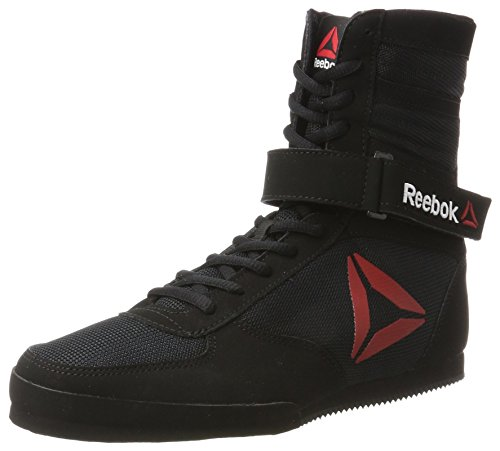 Reebok Boxing Boot - Buck Scarpe da Boxe Uomo, Nero Black/White, 40 EU
