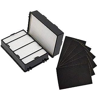 Anboo Air Filter für Holmes hapf600hapf600dm-u2True HEPA Filter B Ersatz für Holmes Bonaire Luftreiniger Teil 16216hrc1Luftreiniger Filter 2Pack Pre + Hepa Filter