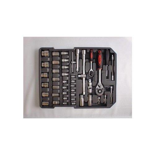 186 Tlg. Werkzeugkoffer Alu Kofferset Trolley - 3