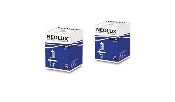 2/X Neolux N472/H4/12/V 60//55/W P43t lampade alogene 2/pezzi Neolux/® by OSRAM