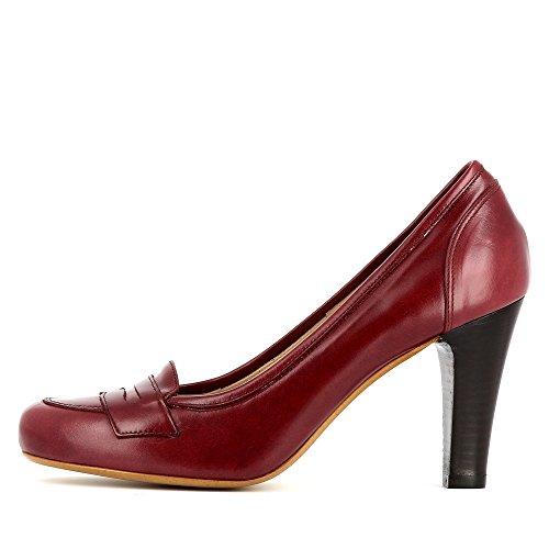 Evita Shoes Maria, Scarpe col tacco donna Rosso scuro