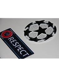Ligue des Champions de l'UEFA (Champions League) & Respect Patch / Applique (Thermocollant / Transfert)