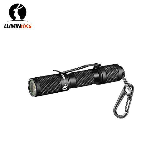 Lumintop Taschenlampe, AAA, Mini-EDC-Taschenlampe, Taschenformat, superhell, 110 lm, Cree-LED, 3 Modi, IP68 wasserdicht, beste Werkzeuge für Camping, Wandern, Jagd, Rucksackreisen, Angeln und EDC