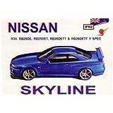 Nissan Skyline R34 Owners Handbook