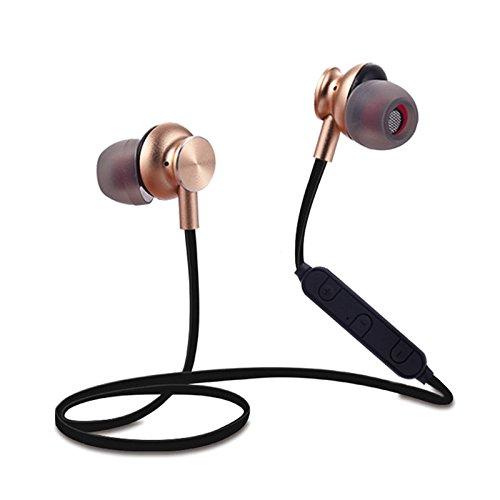 DANGSHUO Auriculares Bluetooth 4.1 inalámbricos con cancelación de Ruido CVC6.0 Hi-Fi estéreo