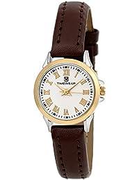Timewear Analogue Round Beige Dial Women's Watch - 107Wdtl