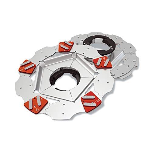 MENZER Diamant-Schleifteller mit 5 Segmenten (K20, medium floor) für Einscheibenmaschine ESM 406