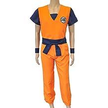 CoolChange disfrace cosplay de Son Goku de la serie Dragon Ball. Talla XXL