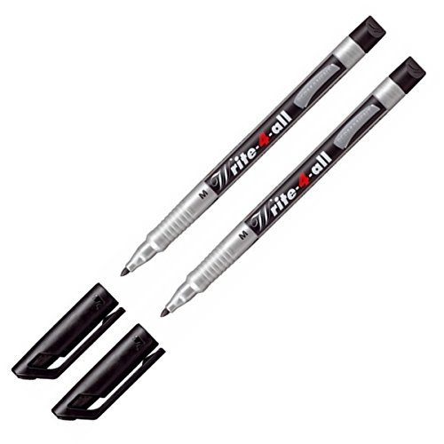 STABILO write-4-all Permanent Black-Medium m 146/46-2articoli @ fine