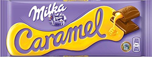 Preisvergleich Produktbild Milka Caramel,  1er Pack (1 x 100 g)