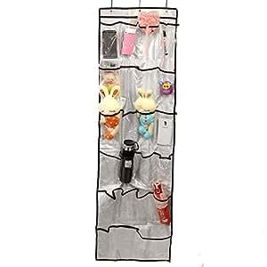 reseaux sacs suspendus transparente 22 poches stockage porte mural etag re de rangement en. Black Bedroom Furniture Sets. Home Design Ideas