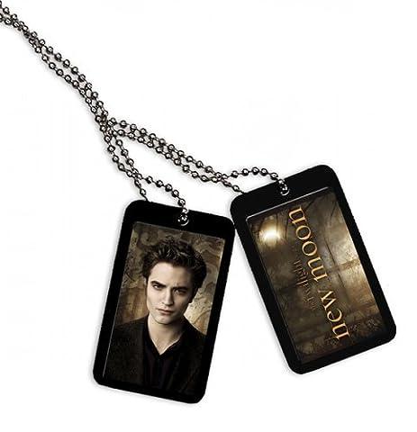 Nouveauté - Twilight New Moon - Dog Tags - Edward Et Lion 20643