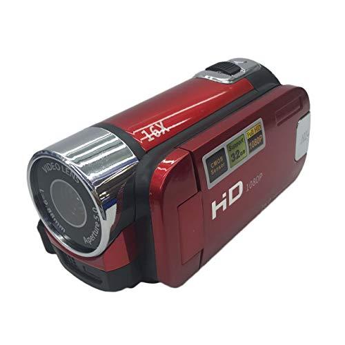 Celerhuak HD-100 Full HD 1080P Digitale Videokamera 2,7-Zoll-TFT-Display 16,0 Megapixel Tragbares Mini-DV für den Heimreisebetrieb