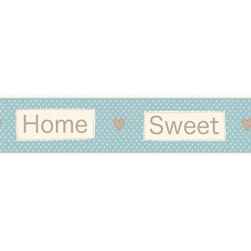BHF FDB50050 Ceramica Sweet Home Teal Kitchen and Bathroom Self Adhesive Border Test