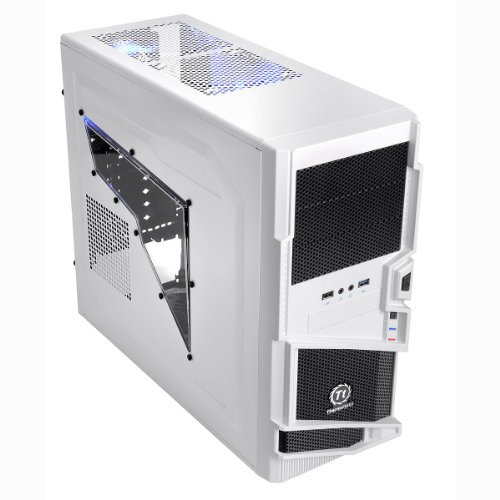 Thermaltake Commander MS-I Snow Edition Tower PC-Gehäuse ATX weiß