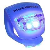 Hudora LED Licht für Lenker Lenkerlicht für Roller Scooter Cityroller Big Wheel 125 144 205 (BLAU)