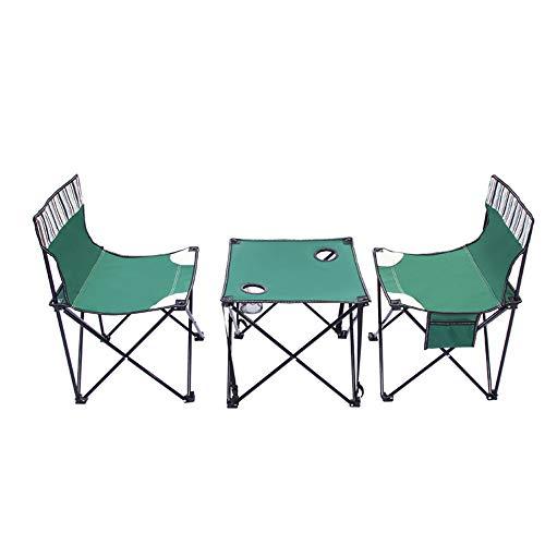 YAzNdom Computertisch Camping Angel Grill Kompakte Und Leichte Tragbare Klapptisch Außenlager Mesh Stuhl Gesetzt Zwei Stühlen Geeignet für Schlafzimmer (Color : Blue, Size : 2 Large Chairs)