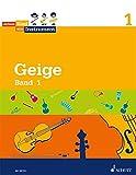 Jedem Kind ein Instrument: Band 1 - JeKi. Violine. Schülerheft.