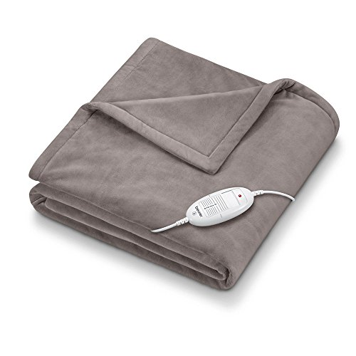 Beurer HD-75 - Manta de tacto suave, color gris