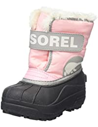 Sorel Childrens Snow Commander, Botas de Nieve Para Niñas