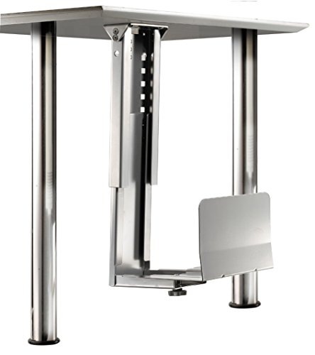 roline-space-saving-pc-holder-with-stable-steel-construction-in-silver
