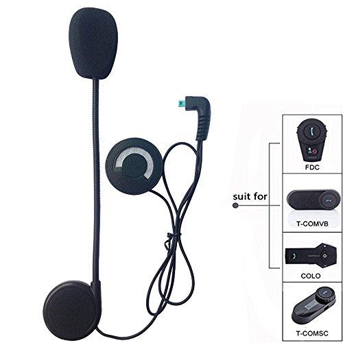 FreedConn Auriculares Para Casco Moto Micrófono Altavoz duro cable de los auriculares para nuevo TCOM FDCVB and COLO el casco de la motocicleta de Bluetooth Interphone del intercomunicador