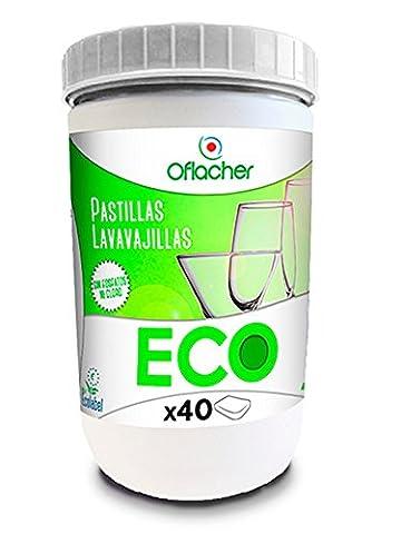 Comprimés Eco de lave-vaisselle mono couche écologiques - Boîte de 720g - 40 unités