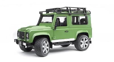 Bruder 2590 - Todoterreno de juguete, diseño de Land Rover Defender Station Wagon por Bruder