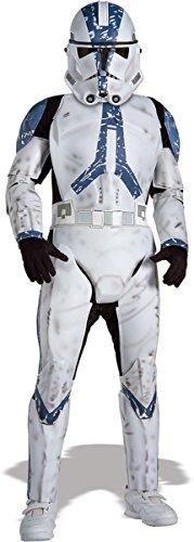Clone Trooper Deluxe Kinder Kostüm, L (Clone Trooper Kostüm Für Kinder)