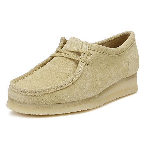 Clarks Originals Damen Maple Wallabee Wildleder Schuhe-UK 5 (Wallabee-schuhe Frauen)