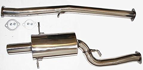 Performance Stainless Cat Back Exhaust System 2002-2007 Subaru Impreza WRX by DEMOTOR