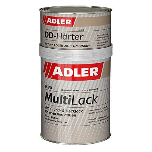 ADLER 2K-PU-Multilack Matt 1kg Weiß, inkl. Härter -