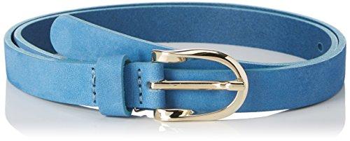 ESPRIT Accessoires Damen Gürtel 038EA1S009, Blau (Grey Blue 420), 100 (420 Gürtel)