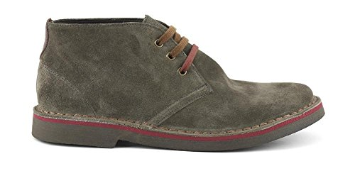 CAF NOIR TD601 clarks type taupe chaussures homme mi lacets