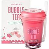 (3 Pack) ETUDE HOUSE Bubble Tea Sleeping Pack Strawberry