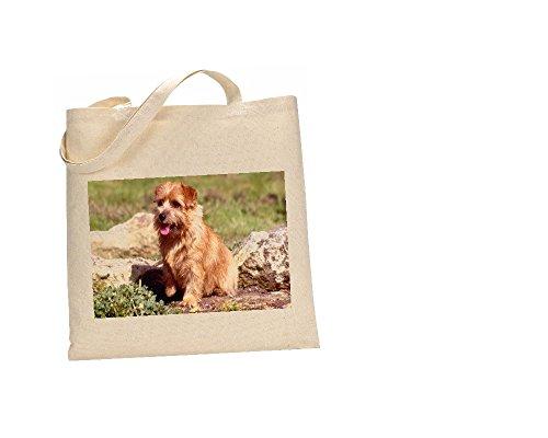 Norfolk Terrier Hunde Tasche 100% Baumwolle (FC) # 177 -