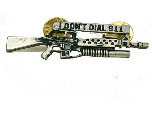 m-16-pin-anstecker-i-dont-dial-911-gun-bushmaster-biker-badge