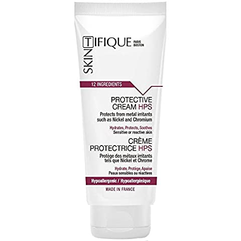 Skintifique Protective Cream HPS - Unique Protection against Metals (Nickel, Chromium, Cobalt…). Let's the skin breathe. Proven Efficacy. Safe & pure formulation. For Nickel allergy, Metal allergy…
