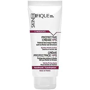 Crème Protectrice HPS (20ml) - Protection unique contre les métaux (Nickel, Chrome, Cobalt…). Laisse la peau respirer. Efficacité prouvée. Composition sûre & pure. Pour allergie au Nickel, aux métaux